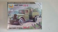 1/100 Scale  WWII Soviet Truck ZIS-5 model kits