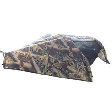 Waterproof Sleeping Swing Tent Bed Camping Hammock w/ Mosquito Net & Rainfly