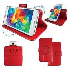 Handy Schutzhülle - 5.5 Zoll (14 cm) IPS N8000 Hülle Tasche 360° Rot XL