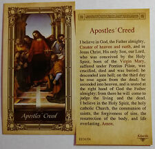 Apostles' Creed - Laminated Holy Card