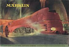 Märklin 1947 Catalog, English Text With Supplement &US $ Price List, Very Rare