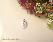 Mobile Phone Tab Charm Dust Plug Earphone Jack - Love Charm