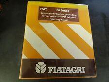FIAT 86 Series Tractors Workshop Manual