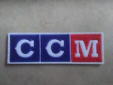 Ccm logo original colors Rare hockey patch (2 versions available: Your Choice!)
