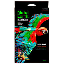 Fascinations ICONX PARROT Jubilee Macaw the Bird 3D Metal Earth Model Kit ICX118