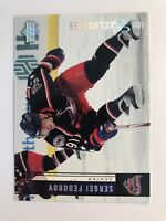 Sergei Fedorov /100 made UD Exclusives Insert Parallel Hockey Card 60 Red Wings