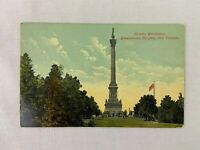 Vintage Postcard Brocks Monument Queenstown Heights Ontario Canada