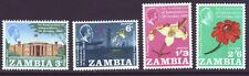 Zambia 1965 SC 22-25 MH Set 1st Independence Anniversary