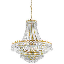 Searchlight 9112-82go Versailles 13 Light Crystal Chandelier Gold