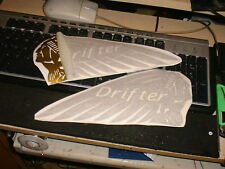 Gas Tank decal GOLD DRIFTER looks great on 800 or 1500 Kawasaki Drifter Indian