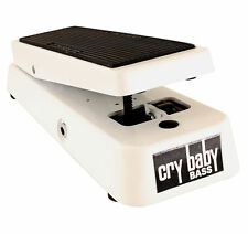 Jim Dunlop Crybaby 105q Bass Wah Pedal White Bass Model -  New