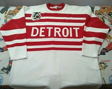 100% Authentic Pro 56 Detroit Red Wings 1991-92 Vtg Mitchell And Ness Jersey