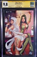BROKEN BUTTERFLY Comics WIDOW'S WEB #1 CGC SS 9.8 Elias Chatzoudis Exclusive