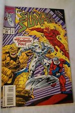 CLASSIC MARVEL COMIC - The Silver Surfer - Down to Earth 3. with Fantastic Four