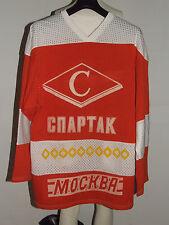 MAGLIA SHIRT TRIKOT ICE HOCKEY GHIACCIO SPARTAK MOSCA MOSCOW n°20 80'S