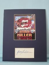 """Attack of the Killer Tomatoes"" with Jerry Anderson autograph as Major Mills"