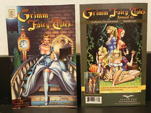 Lot of 25 Grimm Fairy Tales  #2 (Zenescope Entertainment, 2005 second printing)