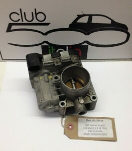 Fiat 500 1.2 Petrol Throttle Body also fits the current Ford KA 5519278