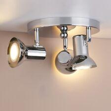 Pathson Cluster 3 Spotlight Chrome Ceiling Light Kitchen Wall Lamp GU10 Fittings