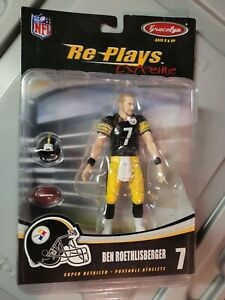 RARE Ben Roethlisberger Re-Plays Extreme UNRELEASED GraceLyn Figure Steelers NEW