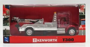 New-Ray Toys Diecast Tow Truck Kenworth T300 1:43 Red Vehicle