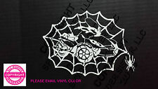 CAN-AM SPYDER WEB ST WITH SPIDER WINDOW DECAL - 13 COLORS
