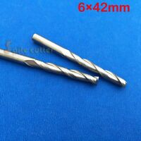 5 pcs Carbide Endmill Double Flute Spiral CNC Router Bits 6mm ×42mm
