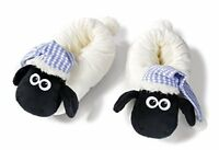 Nici 41475Shaun the Sheep Slippers with Night Cap, 34-37, Color WhiteBlack