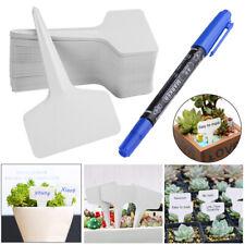500x Étiquettes de jardin imperméables pépinière en de type T plante étiquettes