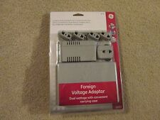 Foreign Voltage Adaptor.With Carrying Case.G E #73611.New In Box.