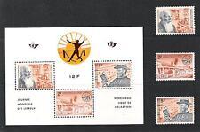 BELGIQUE (1964) - COB BLOC 35*MLH + 1278/80 - JOURNEE MONDIALE DES LEPREUX