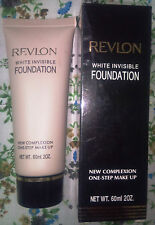 Revlon White Invisible Foundation New Complexion One Step Makeup 60 ml 20 z