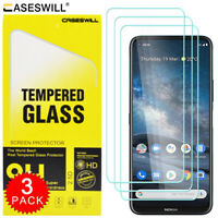 For Nokia 8.3 5G Caseswill Premium HD-Clear Tempered Glass Film Screen Protector