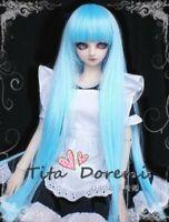 Bjd Doll Wig 1/3 8-9 Dal Pullip AOD DZ AE SD DOD LUTS Dollfie SKY brown Toy Hair