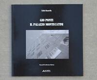 Scarce Gio PONTI Italian Architecture Book 50s Mid Century Modern Era Il Palazzo