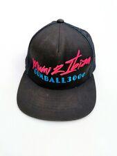 Gumball 3000 Cap Miami To Ibiza 2014 Rally Trucker Hat Black