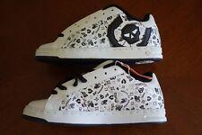 CIRCA White / Black 211 Bold Skate Shoes | Men's Size 8 | new w/o box ø Adio DC
