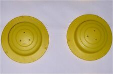 Evenflo ExerSaucer Mega Active Learning Center Part: 2 Leg/Spring Caps in Yellow