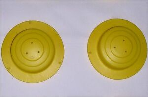 Evenflo ExerSaucer Mega Active Learning Center Part: 2 LEG/SPRING-CAPS IN YELLOW