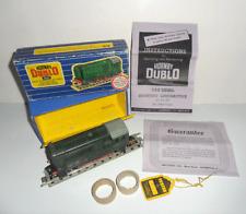 HORNBY DUBLO 3-RAIL 3231 0-6-0 DIESEL SHUNTING LOCOMOTIVE D3763 BOXED