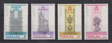 QEII 25th Anniversary Coronation 1978 MNH Stamp Set Tokelau SG 61-64