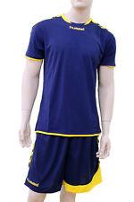 3X Hummel Sport Camiseta Balonmano 03-939 Ss Poli 7992 Azul/Amarillo XL Nuevo