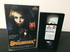 Spellbinder EX Rental VHS Tape - 80's Horror MGM