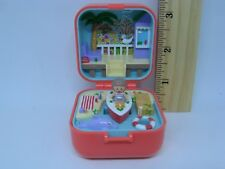 Vintage Polly Pocket LITTLE LULU'S SPEEDBOAT RING Bluebird 1992 Compact Complete
