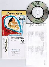 """DIANA ROSS When You Tell Me That You Love Me JAPAN 3"""" CD SINGLE TODP-2363 Insert"""