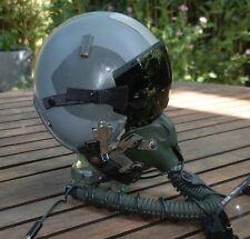 Named HGU-55/P flight helmet with green MBU-12/P oxygen mask Ltc Nardecchia USAF
