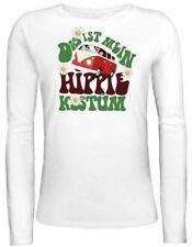 Hippie Langarm Damenblusen, - tops & -shirts mit L