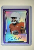 2020 Leaf Metal Draft Auto Portrait Rainbow Purple #BAP-CJ1 Collin Johnson /25
