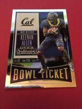 Keenan Allen  2016 Panini Contender Draft Picks Bowl Ticket #60  34/99