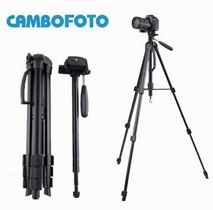 "70"" Cambofoto Professional Heavy Duty Camera Video Tripod Monopod Quick Release"